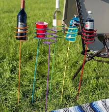 outdoor drink holders that you can insert into the ground are the perfect solution for nearby chairs hammocks or hanging hammock swings when you don t have