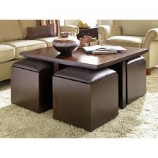 beige ottoman coffee table round leather storage large upholstered sets magnificent size of small square seat