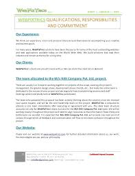 Website Design Bid Template Redesign Proposal Web Best Samples