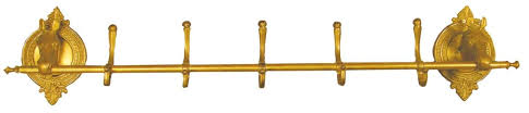 Horse Coat Rack Brass Horse Hat and Coat Rack 40