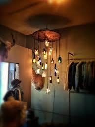 Making Wine Bottle Lights Salvaged Liquor Bottle Chandelier Bottle Chandelier Liquor