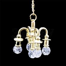 dollhouse chandelier miniature doll house accessories scale dollhouse lighting fixtures
