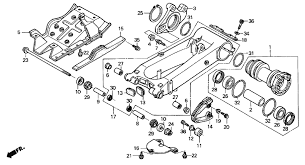 2004 honda trx400ex swingarm parts best oem swingarm parts diagram schematic search results 0 parts in 0 schematics