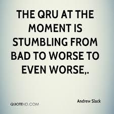 Slack Quote Fascinating Andrew Slack Quotes QuoteHD