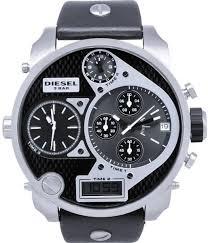 diesel mr daddy for men analog digital leather band watch diesel mr daddy for men analog digital leather band watch dz7125