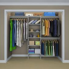 closet systems. ClosetMaid Selectives 83 In. H X 120 W 14.5 D Closet Systems E