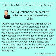 Good Questions To Ask The Interviewer Best Job Interview Question To Ask In Your Interview