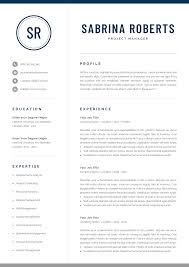 Professional Manager Resume Template For Word Mac Pages Creative