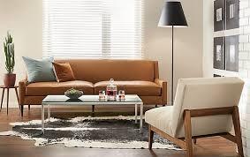 room and board lighting. braden leather sofa room and board lighting