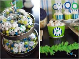 Golf Ball Decorations Tommy's Golf Swim Birthday Party Favours Golf and Swim 39