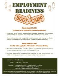 Employment Readiness Bootcamp Personal Career Strength Test