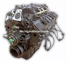 8.1L Vortec Base Marine Engine (2000-current Replacement) 420 HP