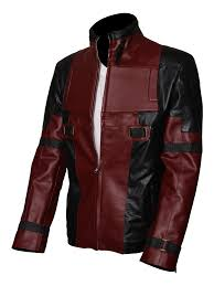 the is already in the wishlist browse wishlist ryan reynolds deadpool leather jacket front
