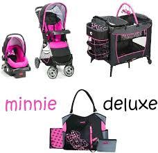 playyard set baby car seat sets mouse newborn set play yard travel system baby girl pink