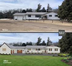 Virtual Exterior Home Design This Awesome Ranch Needed A Tasteful Way To Add A Massive