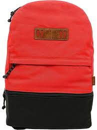 fossil men s summit canvas backpack