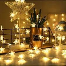 Sài Pin 3A ] 3 mét dây đèn ngôi sao 20 bóng dùng pin, đèn led ngôi sao  trang trí phòng đẹp - Đèn trang trí Hãng No brand