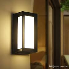 modern porch light. 2018 Modern Outdoor Led Wall Lamps Bulb Ip54 Waterproof Exterior Porch Lights House Outside Garden Light Fixture Black And Grey Colour From Cxwonled, N