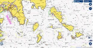 Marine Charts Free Download Nautical Maps Of Greece And Greek Islands By Navionics
