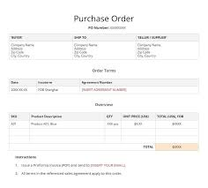 pi proforma invoice what is a purchase order and proforma invoice