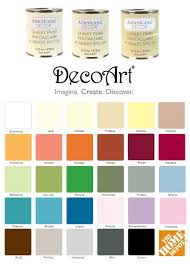 Americana Chalk Paint Color Chart Chalk Paint From Home Depot And Or Michaels New Project