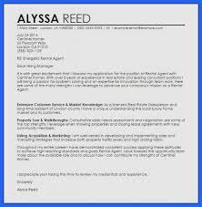 Rental Resume Cover Letter - Wynagrodzenia.info