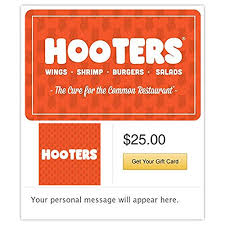 amazon hooters gift cards configuration asin e mail delivery gift cards
