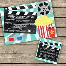 Movie Night Invitation Templates Unique Movie Night Party Invitation Template Free Or Movie Theme