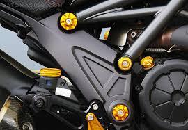 Ducati Diavel Frame Plugs - SATO RACING