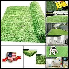 new green grass carpet area artificial rug outdoor fake turf porch mat backyard