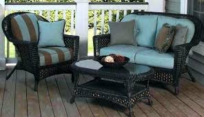 loveseats loveseat cushion outdoor wicker replacement chair cushions exterior rolston 3 piece set