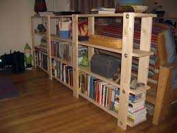 picture of easy low waste bookshelf plans