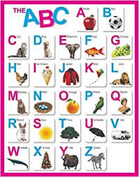 Amazon In Buy Paper Plane Design Abc Alphabet Charts