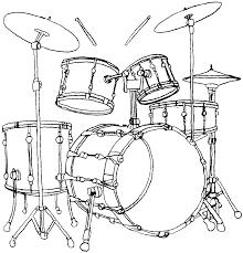 Coloriage Instrument De Musique Imprimer Pour Imprimer Les