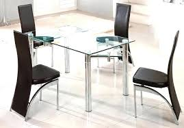 Expandable Glass Dining Room Tables Interior Best Decoration