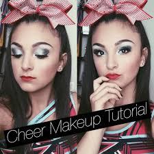 cheer makeup tutorial santa garcia
