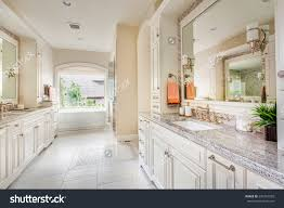 Large Bathroom Large Bathroom Interior Luxury Home Two Stock Photo 230741509