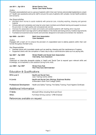 Cv Template For Care Assistant Care Assistant Cv Example Writing Guide Land Top Care Jobs