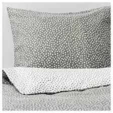 vinter 2017 duvet cover and pillowcase s gray white thread count