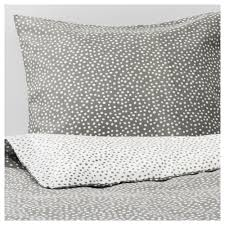 vinter 2017 duvet cover and pillowcase s gray white