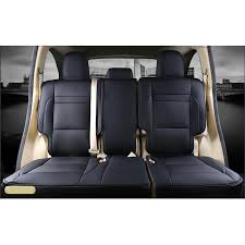 luxurious high grade leather 2016 2017 toyota highlander seven seats custom car seat covers