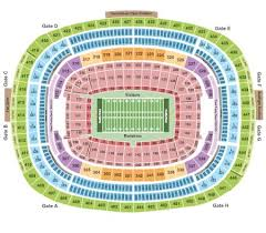 Fedex Field Tickets And Fedex Field Seating Chart Buy