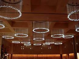 fiber optic crystal chandeliers for the four seasons hotel st louis mo