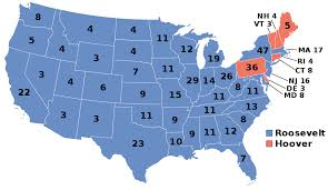 1932 United States Presidential Election Wikipedia