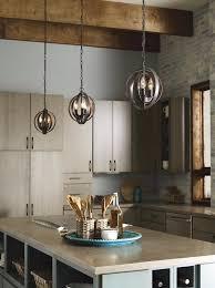 Tech Lighting Quinton Pendant Equinox Three Light Sphere Pendant Kitchen Island