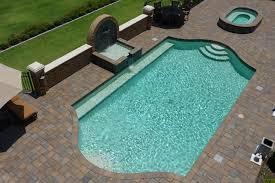 grecian shaped ite pool