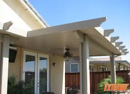 Patio & Pergola Cool Alumawood Patio Covers In White With White