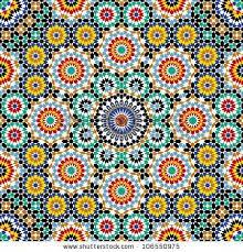 Free Moroccan Patterns   Razil Morocco Pattern Stock Vector 106550975 :  Shutterstock