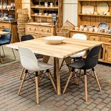 buy delta oak dining tables  unusual furniture  burford garden