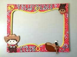 cowboy picture frames custom made western